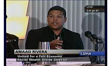 Amaad Rivera at 2008 Demos Conference