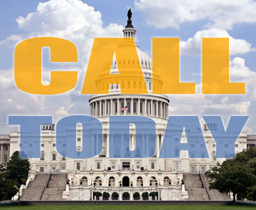 Call Congress Today