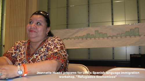 Jeannette Huezo  at USSF workshop