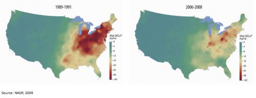 US EPA map