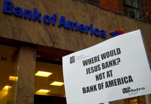 Where would Jesus bank?