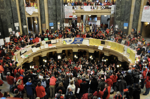 Wisconsin Statehouse Protest