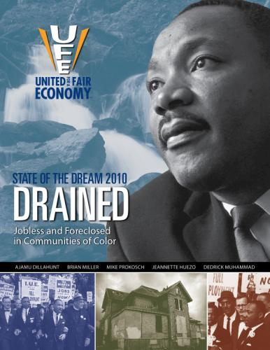 State of the Dream 2010 report cover