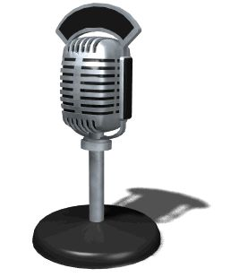 Talk Radio Microphone